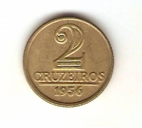 Catálogo Vieira Nº 77 - 2 Cruzeiros (Armas da República) - Numismática Vieira