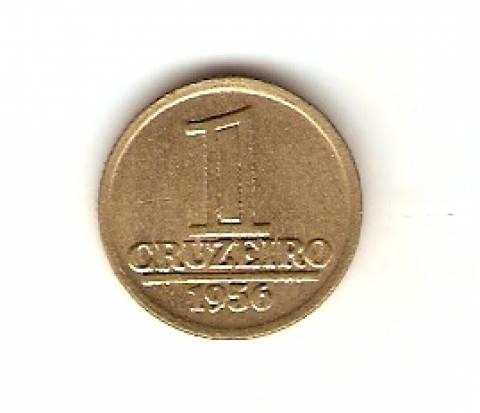 Catálogo Vieira Nº 78 - 1 Cruzeiro (Armas da República) - Numismática Vieira