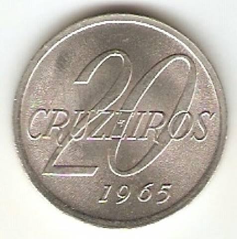 Catálogo Vieira Nº 80 - 20 Cruzeiros (Mapa do Brasil) - Numismática Vieira