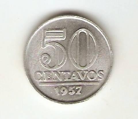 Catálogo Vieira Nº 92 - 50 Centavos (Armas da República) - Numismática Vieira
