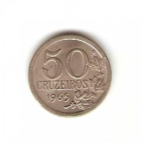Catálogo Vieira Nº 109 - 50 Cruzeiros (Efigie da República) (Cupro Níquel) - Numismática Vieira