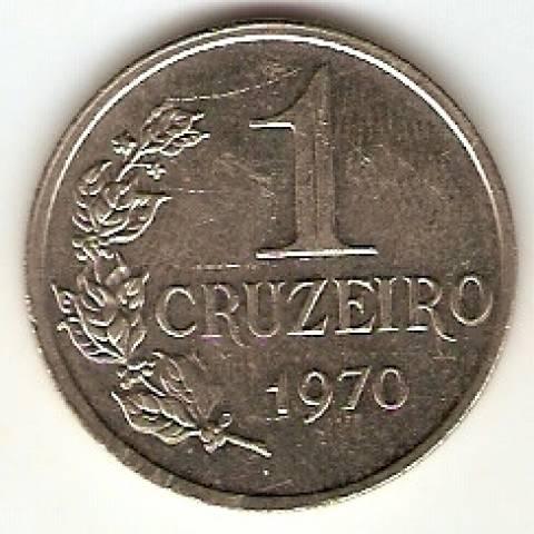 Catálogo Vieira Nº 111 - 1 Cruzeiro (Efígie da República) (Aço)