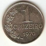 Catálogo Vieira Nº 111 - 1 Cruzeiro (Efígie da República) (Aço) | Numismática Vieira