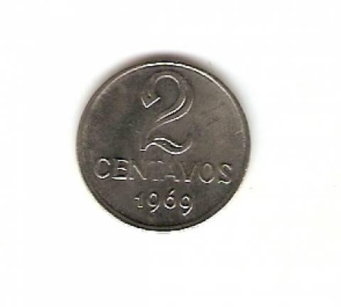 Catálogo Vieira Nº 143 - 2 Centavos (Efígie da República) (Aço) - Numismática Vieira