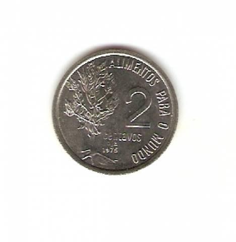 Catálogo Vieira Nº 152 - 2 Centavos (Fao - Alimentos para o mundo) (Efígie da República) (Aço) - Numismática Vieira