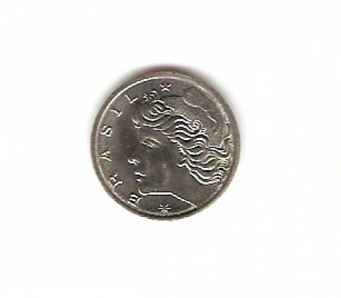 Catálogo Vieira Nº 156 - 1 Centavo (Fao - Alimentos para o mundo) (Efígie da República) (Aço) - Numismática Vieira
