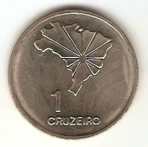 Catálogo Vieira Nº 160 - 1 Cruzeiro (Independência do Brasil) (Aço) - Numismática Vieira