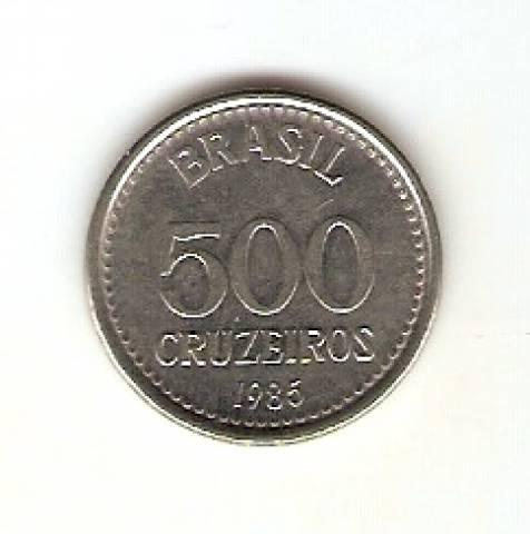 Catálogo Vieira Nº 161 - 500 Cruzeiros (Armas da República) (Aço) - Numismática Vieira
