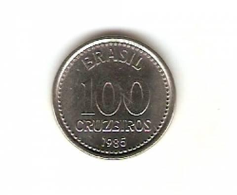 Catálogo Vieira Nº 165 - 100 Cruzeiros (Armas da República) (Aço) - Numismática Vieira