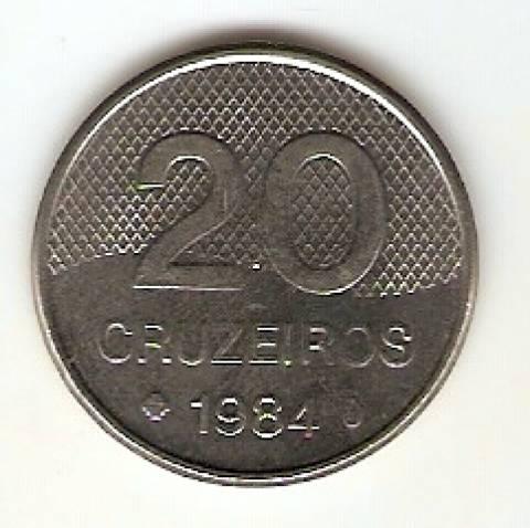 Catálogo Vieira Nº 176 - 20 Cruzeiros (Igreja) (Aço) - Numismática Vieira