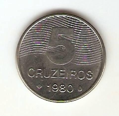 Catálogo Vieira Nº 188 - 5 Cruzeiros (Café) (Aço) - Numismática Vieira