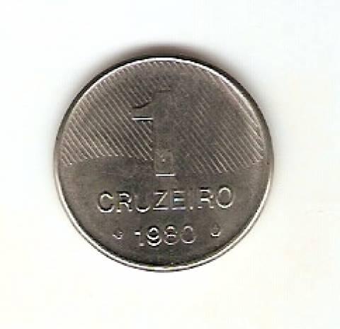 Catálogo Vieira Nº 195 - 1 Cruzeiro (Cana de Açucar) (Aço)