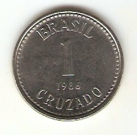 Catálogo Vieira Nº 16 - 1 Cruzado (Reforma Monetária) (Aço)