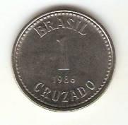 Catálogo Vieira Nº 16 - 1 Cruzado (Reforma Monetária) (Aço) | Numismática Vieira