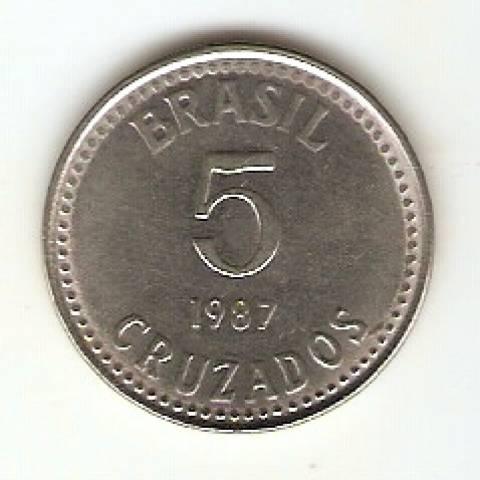 Catálogo Vieira Nº 20 - 5 Cruzados (Reforma Monetária) (Aço) - Numismática Vieira