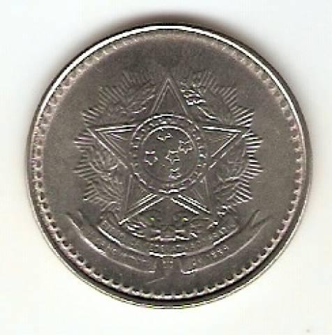 Catálogo Vieira Nº 23 - 10 Cruzados (Reforma Monetária) (Aço) - Numismática Vieira