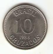 Catálogo Vieira Nº 23 - 10 Cruzados (Reforma Monetária) (Aço) | Numismática Vieira