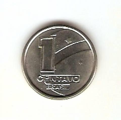 Catálogo Vieira Nº 1 - 1 Centavo (Boiadeiro) (Reforma Monetária) (Aço)