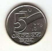 Catálogo Vieira Nº 3 - 5 Cruzeiros (Salineiro) (Reforma Monetária) (Aço)
