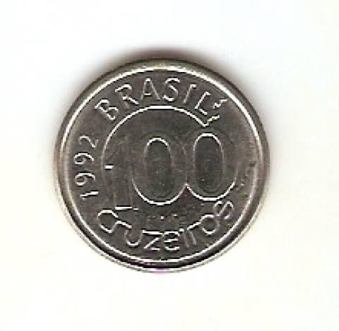 Catálogo Vieira Nº 11 - 100 Cruzeiros (Peixe Boi) (Reforma Monetária) (Aço) - Numismática Vieira
