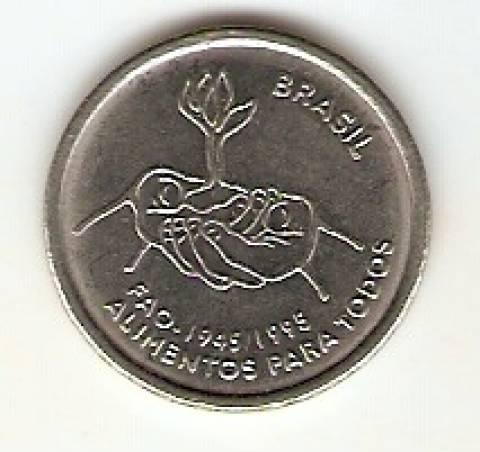 Catálogo Vieira Nº 18 - 10 Centavos 1995 (Moedas de Fao) (Aço) - Numismática Vieira