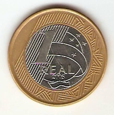 Catálogo Vieira Nº 95 - 1 Real (Banco Central) (Bimetalica) - Numismática Vieira