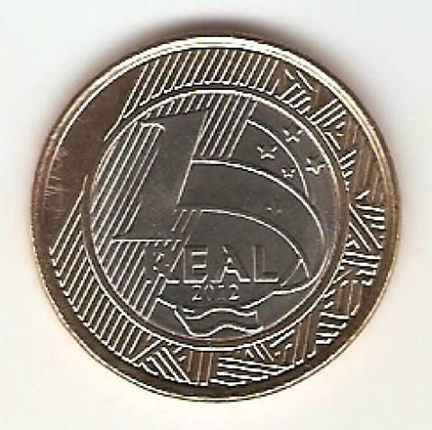 Catálogo Vieira Nº 96 - 1 Real (Bandeira Olímpica) (Bimetalica) - Numismática Vieira