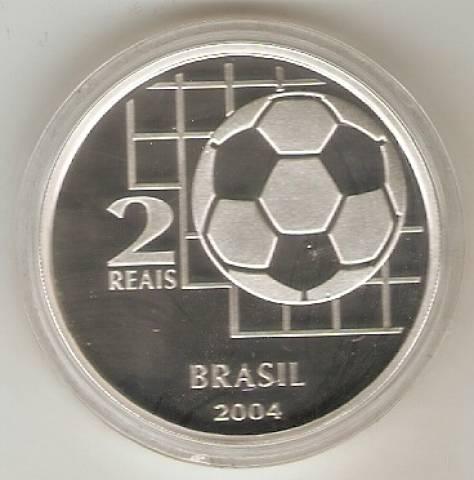 Catálogo Vieira Nº 608 - 2 Reais (Comemorativa do Centenário da FIFA) - Numismática Vieira