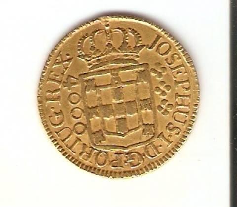 Catálogo Vieira Nº 412 - 4.000 Réis (Ouro) - Numismática Vieira