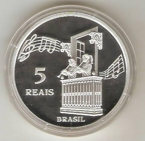 Catálogo Vieira Nº 618 - 5 Reais (Diamantina - Patrimônio da Humanidade - Unesco) - Numismática Vieira