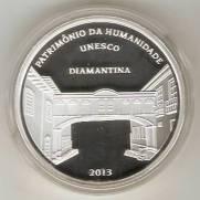 Catálogo Vieira Nº 618 - 5 Reais (Diamantina - Patrimônio da Humanidade - Unesco)