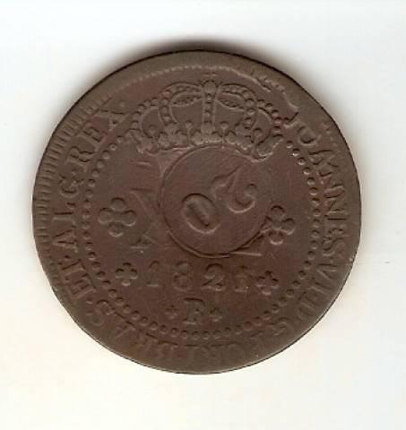 Catálogo Vieira Nº491 - XX Réis Com Carimbo 10 Réis