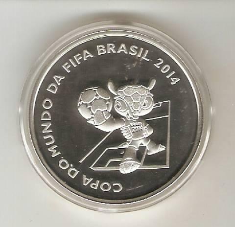 Catálogo Vieira Nº 620 -  Copa do Mundo Brasil 2014 - FULECO - Numismática Vieira