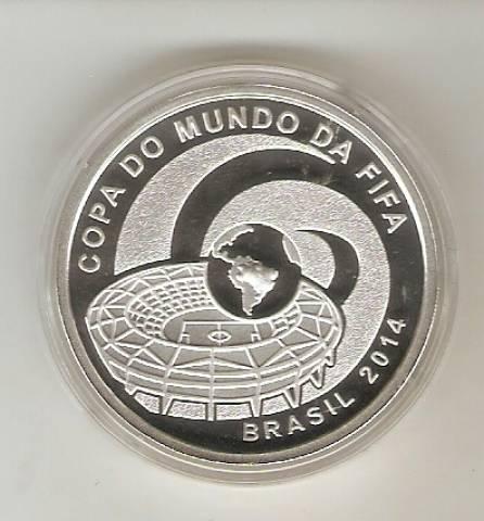 Catálogo Vieira Nº 619 -  Copa do Mundo Brasil 2014 - CIDADES SEDE - Numismática Vieira