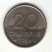Catalogo Vieira No 176   20 Cruzeiros Igreja Aco   1982