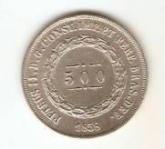 Catalogo Vieira No 485   500 Reis   1852