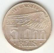Catalogo Vieira No 589   5000 Reis Santos Dumond   1936