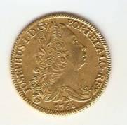 Catálogo Vieira Nº 332 - 6.400 Réis 1768 B (Ouro)