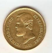 Catálogo Vieira Nº 619 - 20.000 Réis 1852 - D. Pedro II (Ouro)