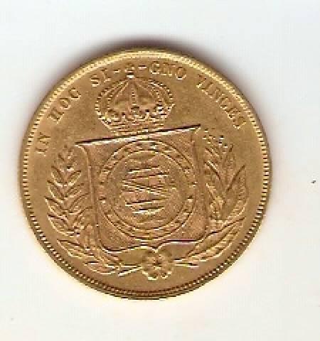 Catálogo Vieira Nº 651 - 10.000 Réis 1875