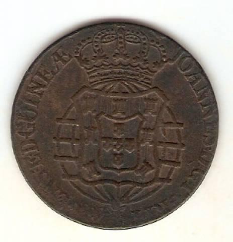 Catálogo Vieira Nº 448A -  1 Macuta 1814 - Numismática Vieira