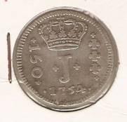 Catálogo Vieira Nº 114 - Série J - 150 Réis 1754B | Numismática Vieira