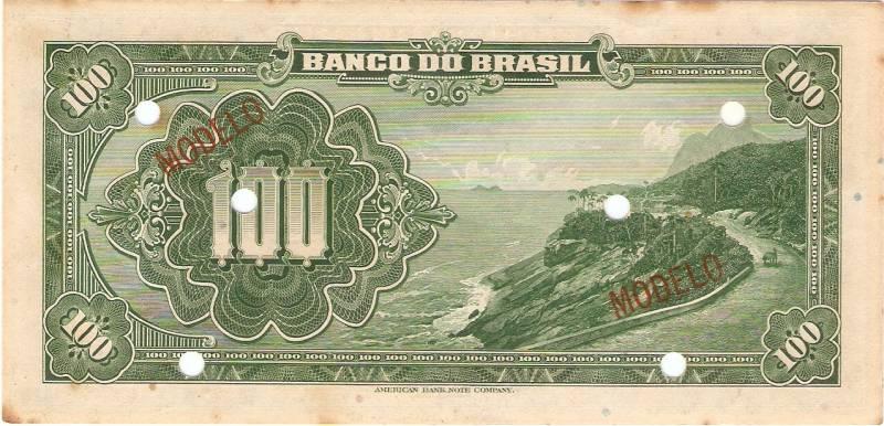 Catálogo Vieira Nº 203 (Modelo) - Banco do Brasil - Numismática Vieira