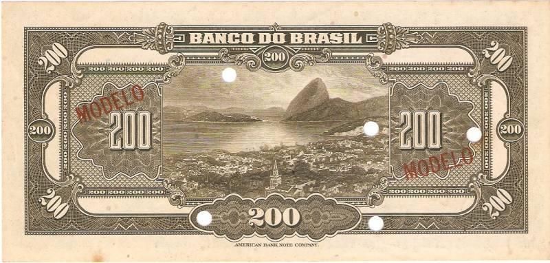 Catálogo Vieira Nº 204 (Modelo) Banco do Brasil - Numismática Vieira