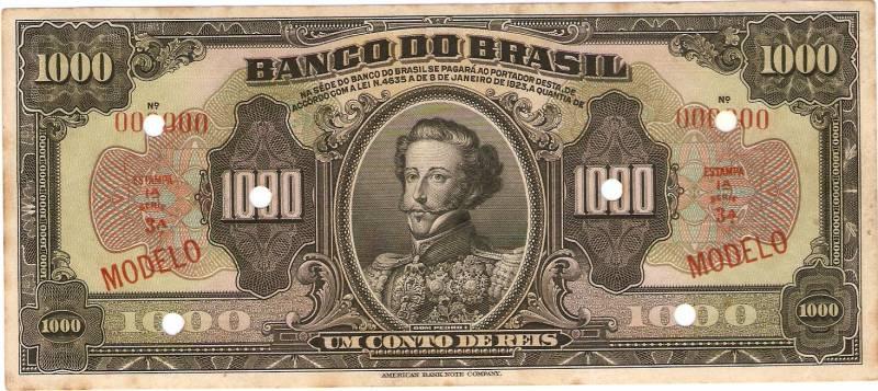 Catálogo Vieira Nº 206 (Modelo) Banco do Brasil - Numismática Vieira
