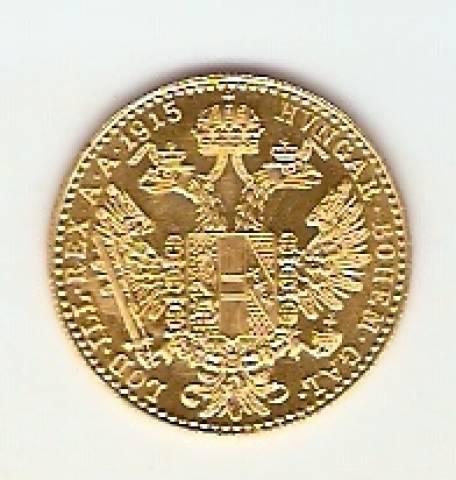 Moeda de Ouro 1 Ducado Austríaco. - Numismática Vieira