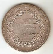 Medalha Comemorativa a Inauguração do Monumento de Antonio E. Malaver