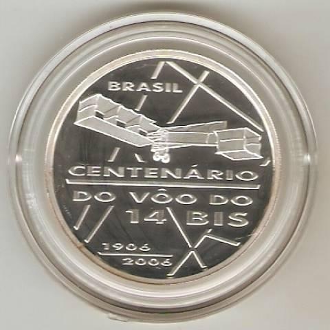 Catálogo Vieira Nº 609 - 2 Reais (Centenário 14 Bis) - Numismática Vieira