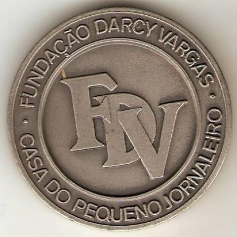 Medalha Comemorativa ao 73º Anos de Darcy Sarmanho Vargas. - Numismática Vieira