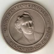 Medalha Comemorativa ao 73º Anos de Darcy Sarmanho Vargas.